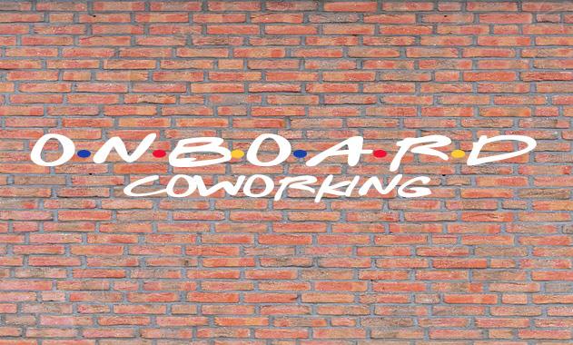 Onboard Coworking Brick Banner